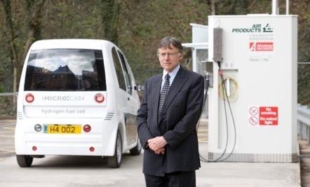 Université de Birmingham/Royaume-Uni : lancement de la première station-service à l'hydrogène !