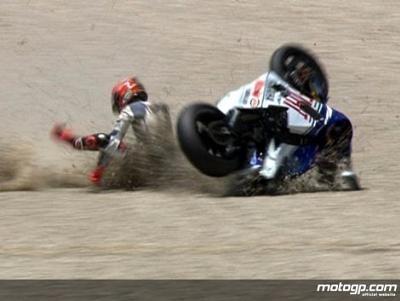 Moto GP - Catalogne D.1: Lorenzo et Rabat touchés à la tête