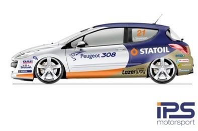 Première image de la Peugeot 308 S2000 de STCC