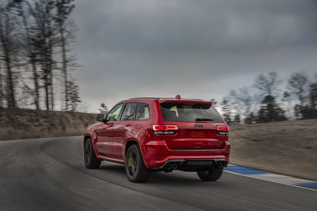 Salon de New York 2017 - Jeep Grand Cherokee Trackhawk : le SUV le plus puissant du monde