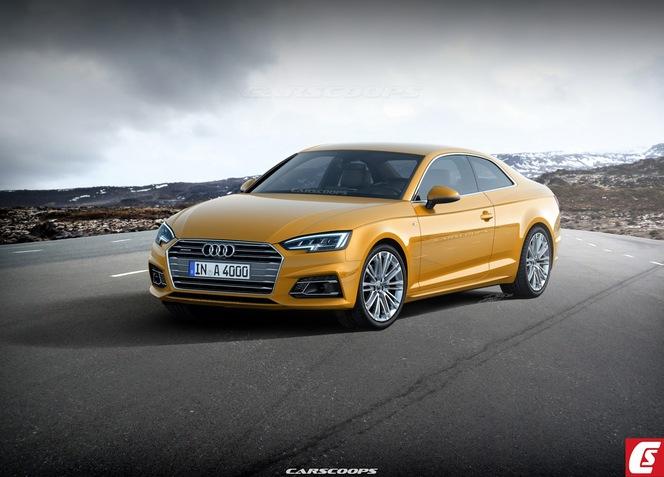 Future Audi A5 : comme ça ?