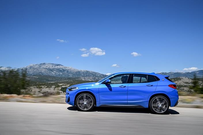 BMW dévoile le X2: tout ce qu'il faut savoir