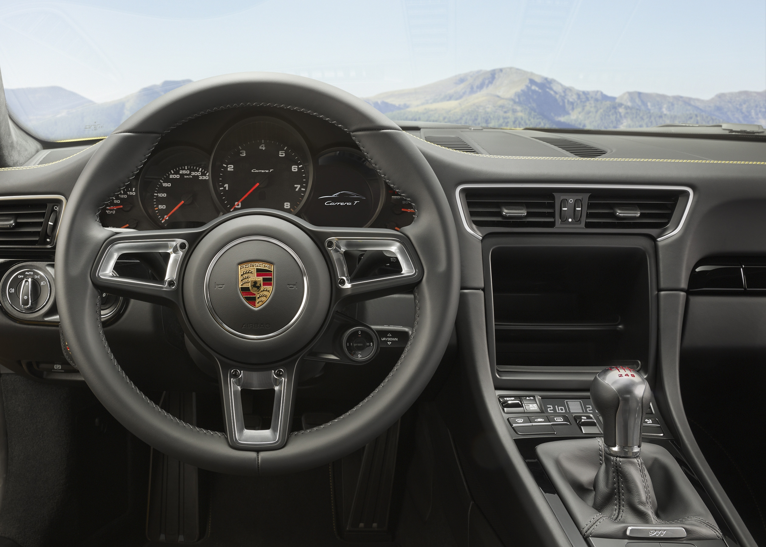 La Porsche 911 Carrera T optimise les performances sportives
