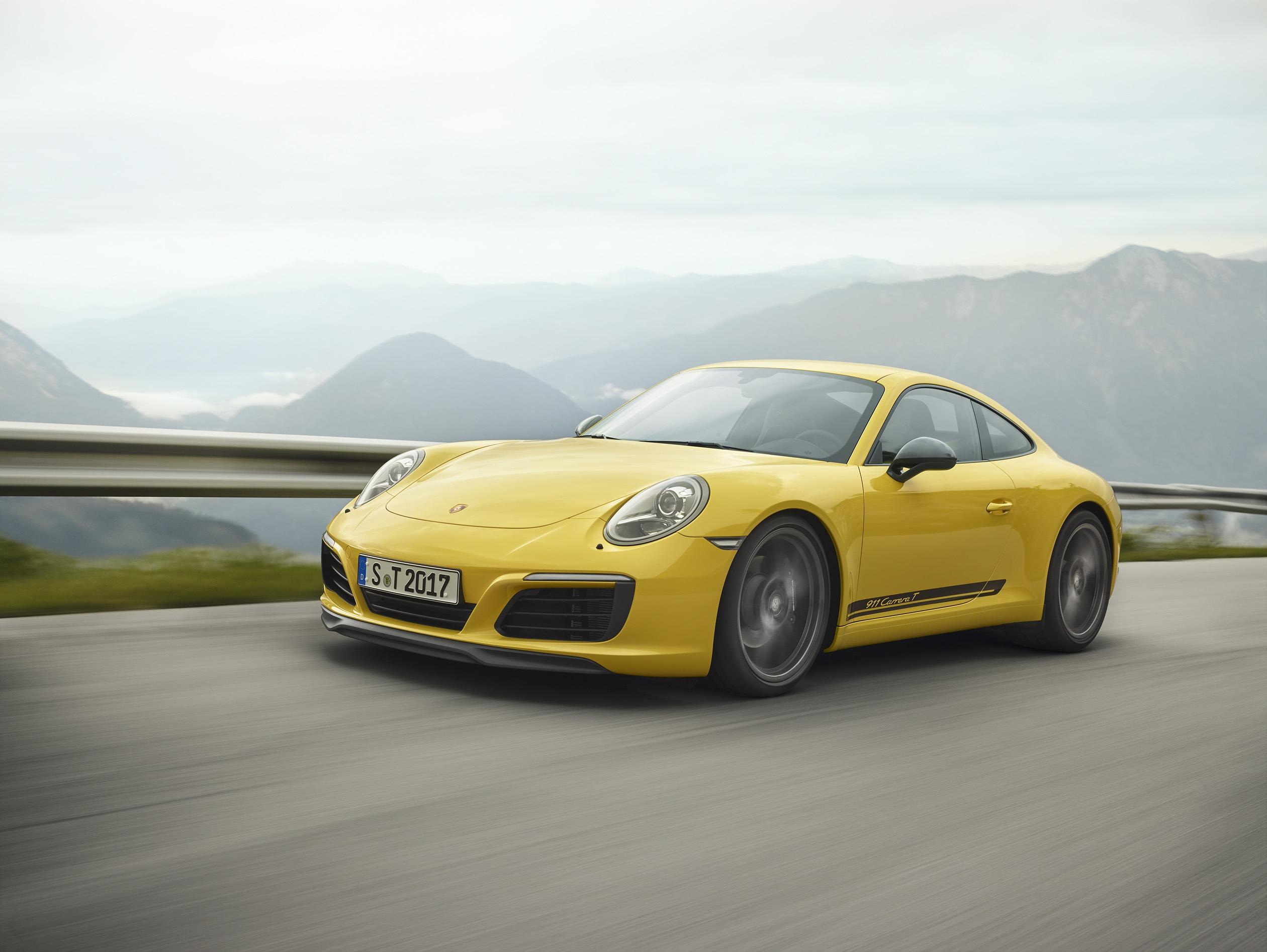Nouvelle Porsche 911 Carrera T : pour les puristes