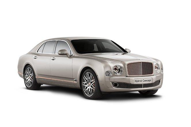 Salon de Pékin : Bentley présentera une Mulsanne hybride rechargeable