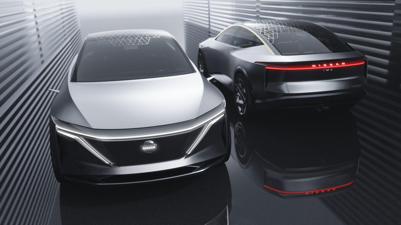 8beef6e59b9fdf Salon de Detroit 2019 - Nissan dévoile le concept électrique IMs