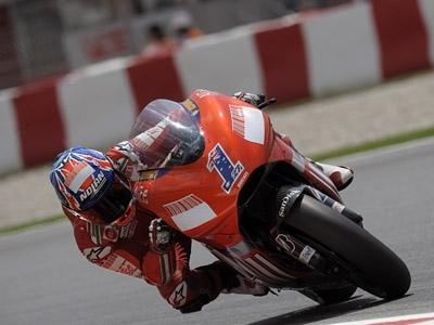 Moto GP - Catalogne D.2: Stoner surpris !
