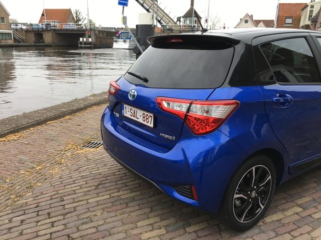 Toyota Yaris restylée : les premières images de l'essai