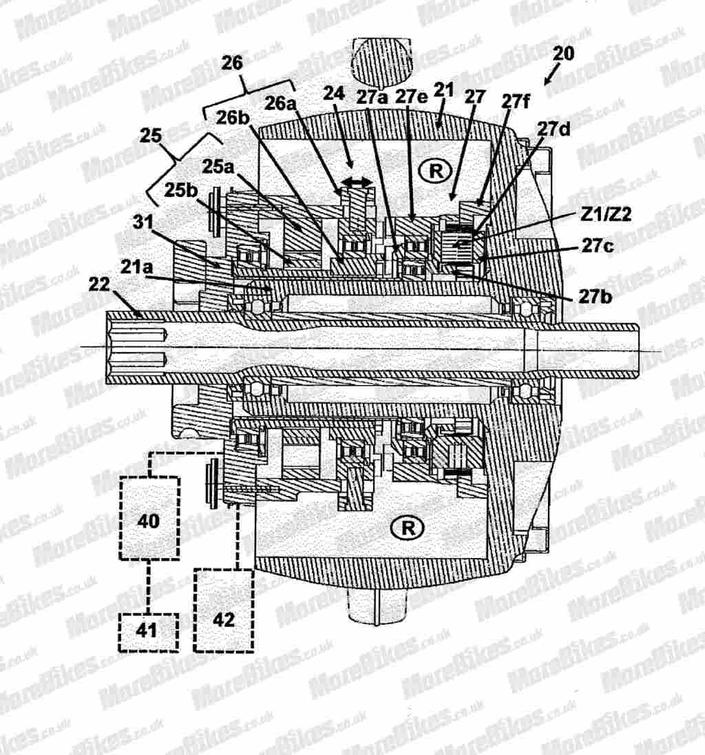 BMW: bientôt une roue avant électrique motrice?