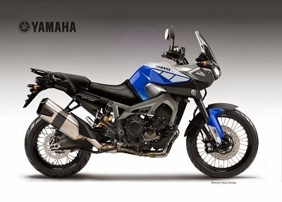 Concept – Yamaha: une Ténéré à la sauce MT-09, c'est fromage et désert!