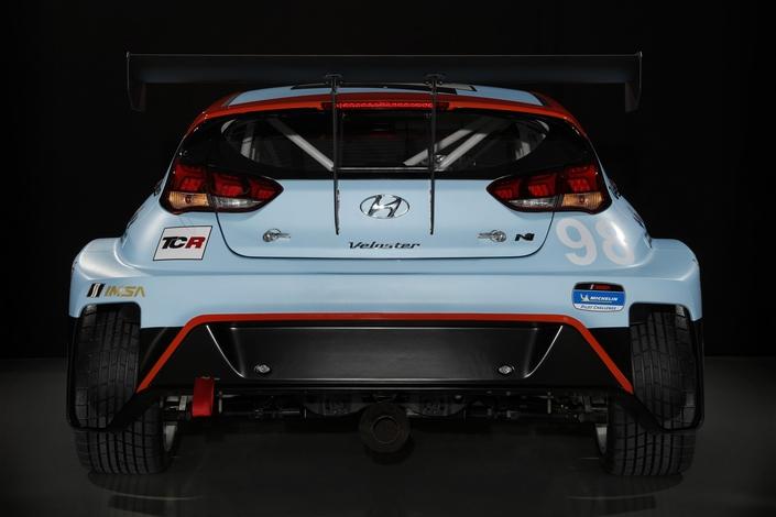 Salon de Detroit 2019 : Hyundai dévoile le Veloster N TCR