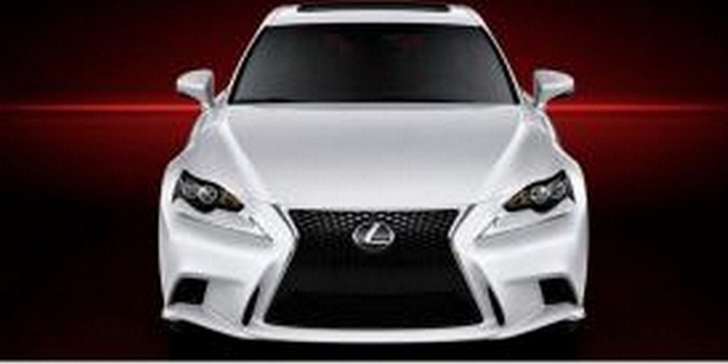 Surprise : voici la nouvelle Lexus IS