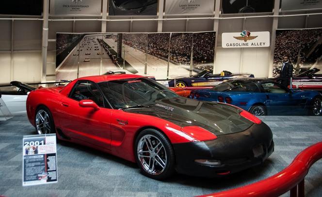 Avant d'être avalée, ceci était une Corvette