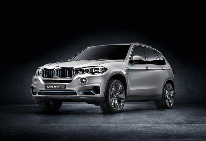 Salon de New York : BMW ressort le X5 eDrive