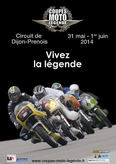 Coupes Moto Légende 2014: les inscriptions sont ouvertes.
