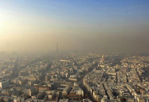 Pollution de l'air: une facture de 100 milliards par an