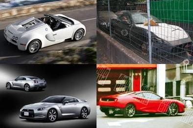 Toutes les supercars présentées au Mondial