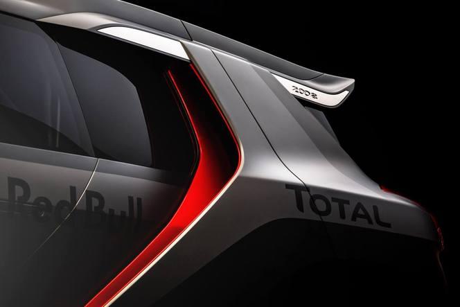 Peugeot 2008 DKR: de premières photos qui en disent long