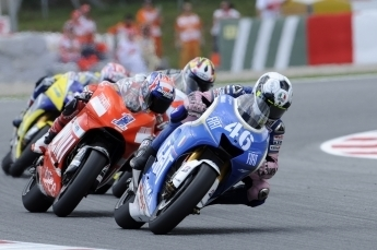 Moto GP - Catalogne: Rossi a fait mieux que limiter les dégâts