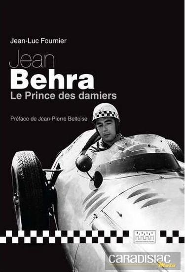 Livre: Jean Behra Le Prince des damiers.