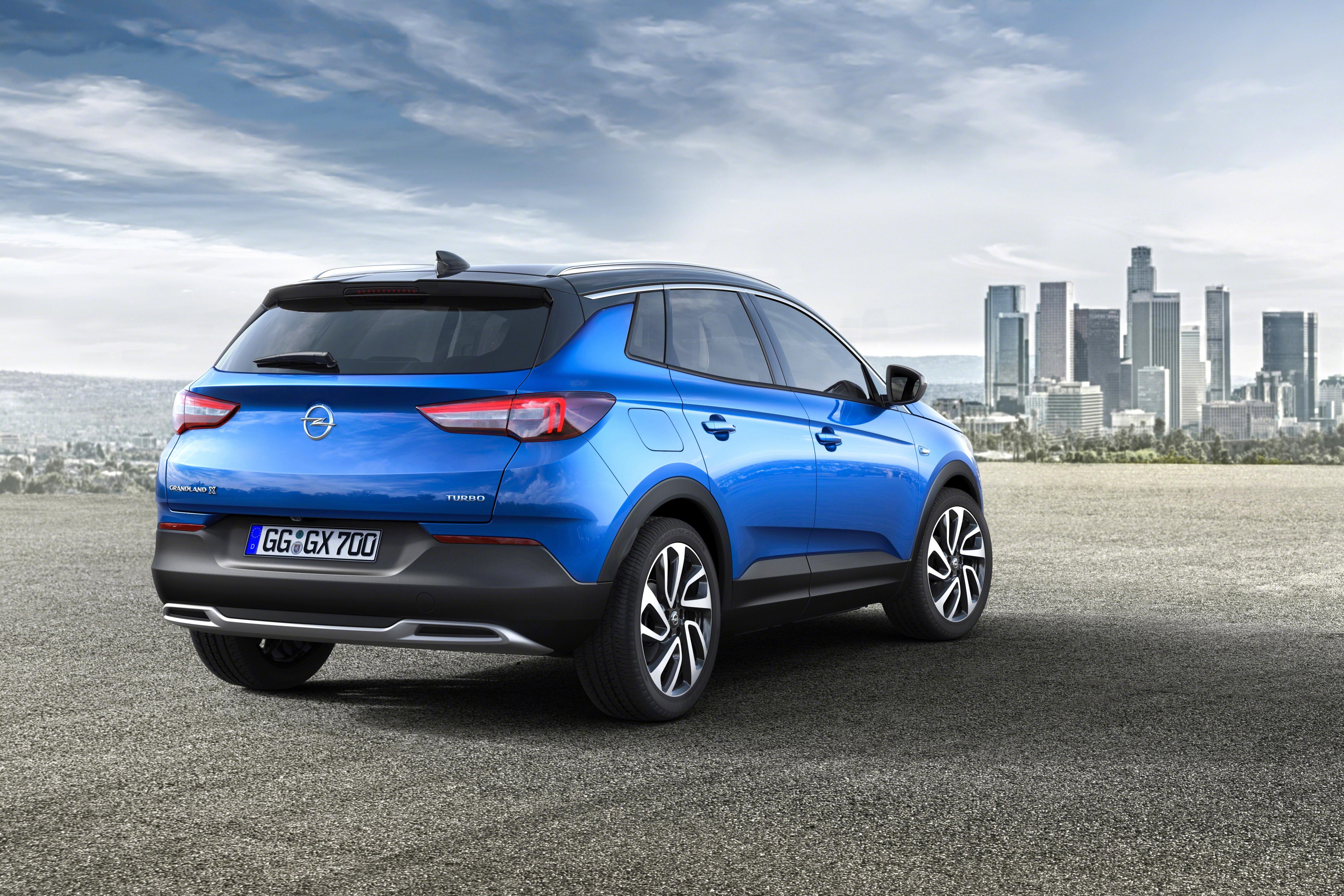 Opel d voile le grandland x for Interieur opel grandland x