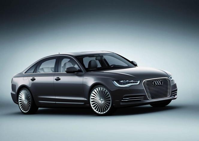 Audi lance l'A6 e-tron, en Chine seulement