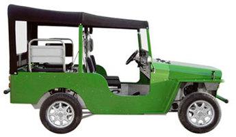 La Scarlette, Jeep électrique, démarre en France