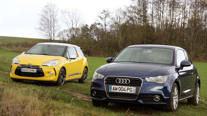 Citroën DS3 vs Audi A1 : la lutte des classes