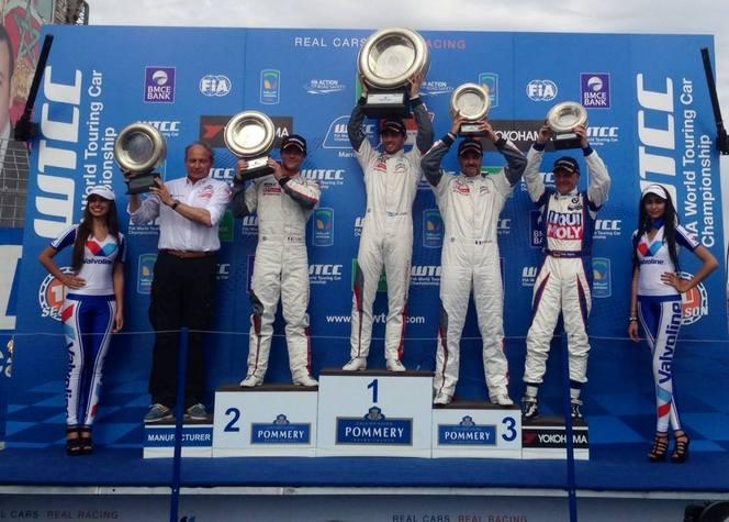 WTCC/Maroc: Citroën et Loeb débutent en fanfare