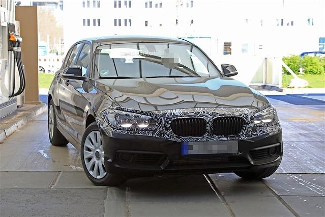 BMW prépareun second restylage pour la Série 1