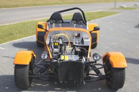 ThoRR de Evisol, un véhicule électrique inspiré du Lotus Super 7 Concept