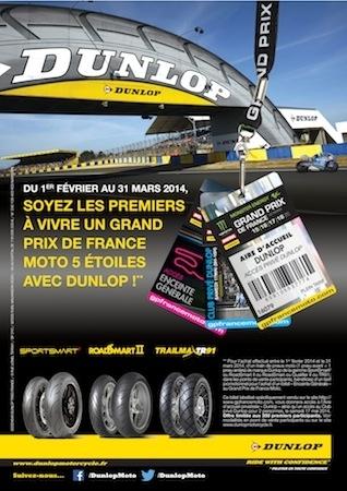 Grand Prix de France Moto: le Mans pour 79 euros avec Dunlop