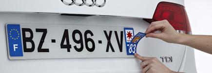 Plaques d'immatriculation : les conducteurs plébiscitent la Corse