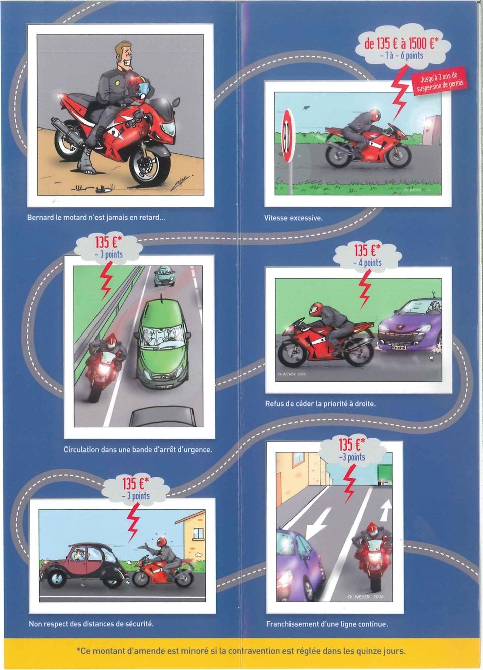 Sécurité routière : la pédagogie selon la Préfecture de Police...