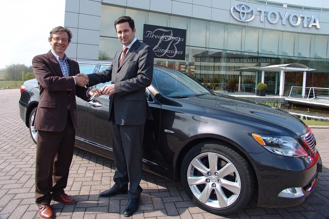 Toyota Prius et Lexus LS 600h adoptées par Breugelmans Limousines & Services