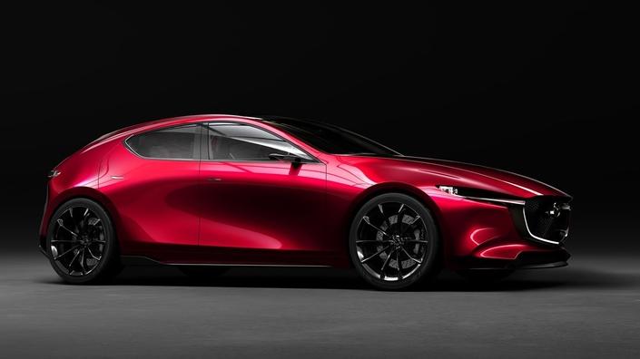 Salon de Tokyo 2017 - Mazda Kai Concept: la prochaine 3 s'annonce