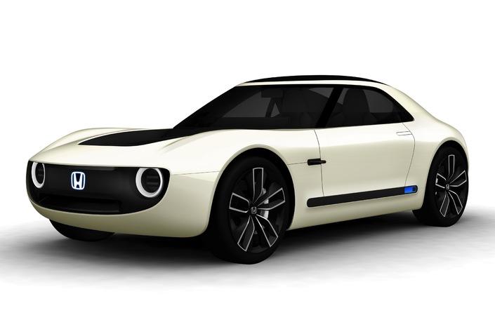 Salon de Tokyo 2017 - Honda Sports EV Concept: l'électrique côté plaisir