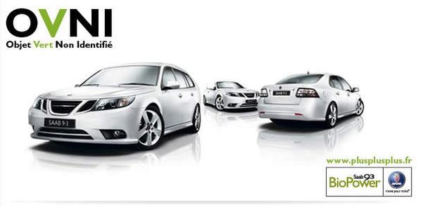 Une publicité écolo de Saab accusée de mentir aux consommateurs