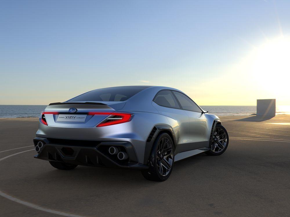 Impreza WRX Turbo excroissances rainure plaquettes de frein disque arrière