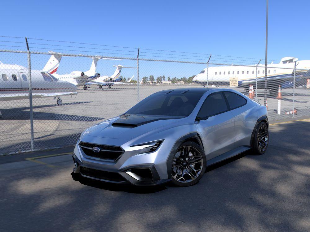 La future sportive de Subaru — Subaru Viziv Performance