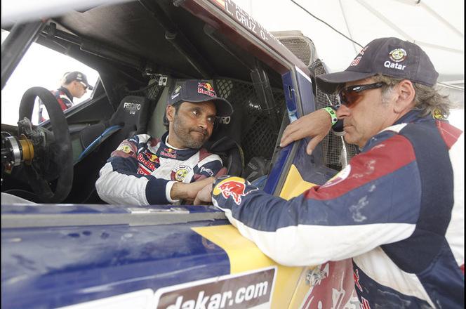 Dakar 2013 - Etape 6 : Al-Attiyah gagne mais perd son équipier Sainz
