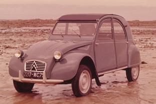 La 2CV à 60 ans et Citroën la fête!