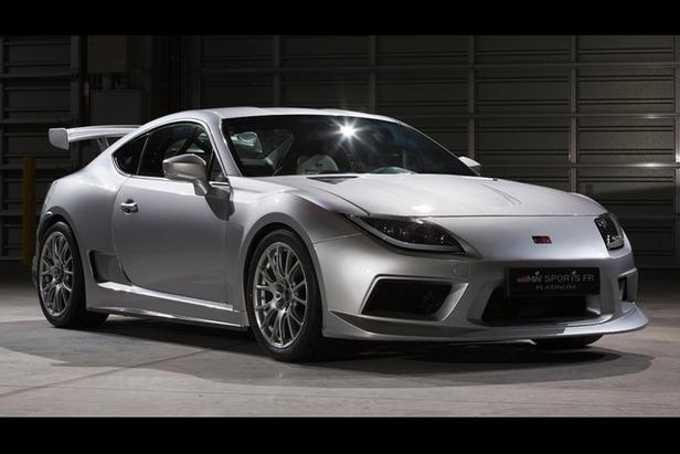 Tokyo Auto Salon 2013 : Toyota GRMN Sports FR Concept Platinum, une GT86 Supra style de 330 ch