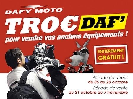 Dafy Troc': vendez vos vieux équipements et repartez avec du neuf