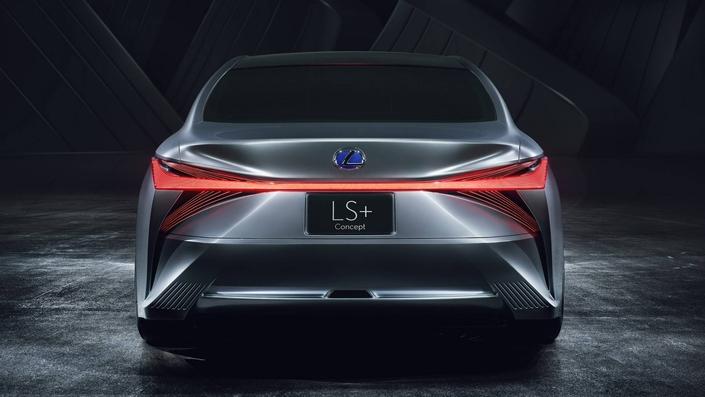 Salon de Tokyo 2017 - Lexus LS+ Concept : super high-tech