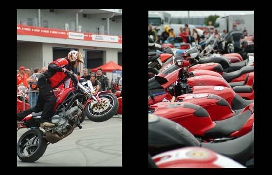 Calendrier : la Festa Ducati, le 5 et 6 Juillet 2008, le programme