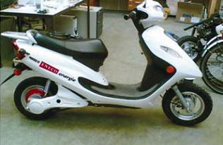 Des bornes électriques efficaces pour des scooters verts !