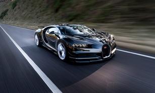 Un pare-chocs très spécial pour la Bugatti Chiron aux États-Unis