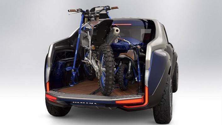 Salon de Tokyo 2017 - Yamaha Cross-Hub Concept : mini pickup