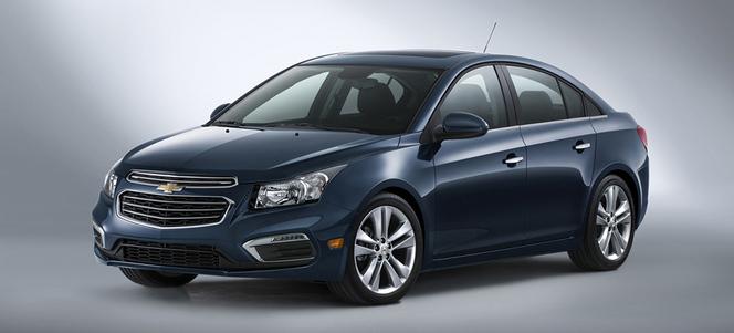 New York 2014 : voici la nouvelle Chevrolet Cruze